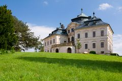 Chateau Chlumec nad Cidlinou Stock Photos