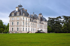 Chateau (castle) Cheverny, Loire Valley, France. Royalty Free Stock Photo