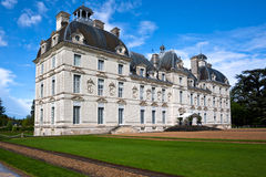 Chateau (castle) Cheverny, Loire Valley, France. Royalty Free Stock Images