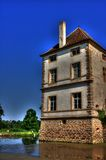 Chateau (castle) de Cromatin Royalty Free Stock Images