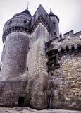 The Chateau (castle) de Langeais, France Stock Photography