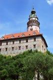 Chateau, Cesky Krumlov, Czech Republic. Chateau and Castle, Cesky Krumlov, Czech Republic stock photography