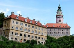 Chateau, Cesky Krumlov, Czech Republic Stock Photos
