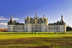 Chateau Chambord Castillo de Chambord Lizenzfreie Stockfotos