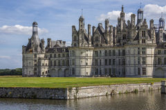 Chateau Chambord - Liore Valley - France Royalty Free Stock Photography