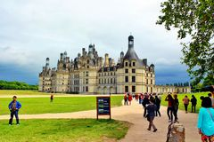 Chateau Chambord Royalty Free Stock Image