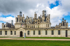 Chateau of Chambord Royalty Free Stock Images
