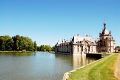 Chateau Chantilly Stockbild