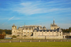 Chateau Chantilly Royalty Free Stock Photo
