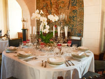 Chateau Chaumont-s-Loire, interior Stock Photo