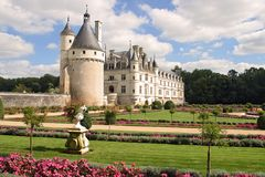 Chateau Chenonceau Stock Photo
