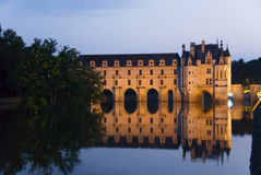 Chateau Chenonceau royalty free stock images