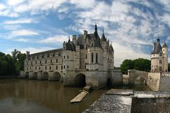 CHATEAU CHENONCEAU. The Chateau de Chenonceau, Loire Valley, France Royalty Free Stock Images