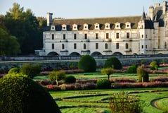 Chateau Chenonceau - de Vallei van de Loire, Frankrijk stock afbeeldingen