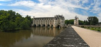 Chateau Chenonceau. France. The Chateau de Chenonceau. Loire Valley. France Royalty Free Stock Photos
