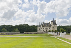Chateau Chenonceau, Frankrijk Stock Afbeelding