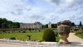 Chateau Chenonceau i Loire Valley arkivbild
