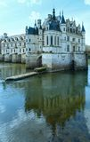 Chateau Chenonceau or Ladies Castle (France). Royalty Free Stock Photography