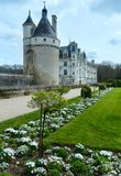 Chateau Chenonceau or Ladies Castle (France). Stock Image