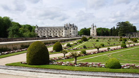 Chateau Chenonceau in Loire Valley Stock Photo