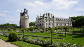 Chateau Chenonceau in Loire Valley Royalty Free Stock Image