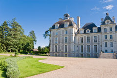 Chateau Cheverny stock fotografie