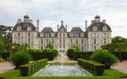 chateau cheverny de Fotografering för Bildbyråer