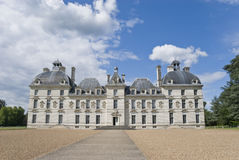 Chateau Cheverny Entrance Stock Image