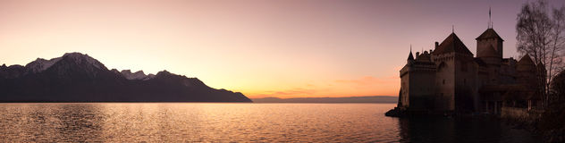 Chateau Chillon Royalty Free Stock Images