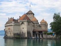 Chateau Chillon, Schweiz Fotografering för Bildbyråer
