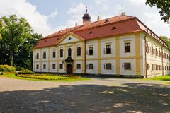Chateau Chotebor, Czech Republic. Chateau Chotebor, Europe, Czech Republic Stock Image
