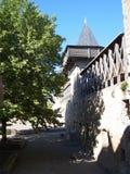 Chateau, Cite de Carcassonne ( France ) Royalty Free Stock Images