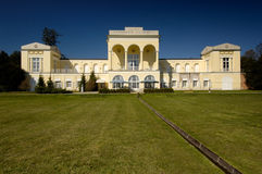 Chateau in classicism style Royalty Free Stock Image