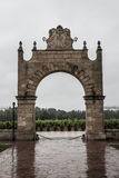 Chateau Clos d'estournel entrance arch,saint Estephe, right bank,Bordeaux, France Royalty Free Stock Image
