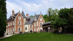 Chateau Clos Luce in Amboise Stock Images