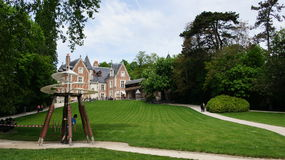 Chateau Clos Luce in Amboise Royalty Free Stock Photos
