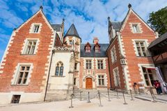 Chateau Clos Luce Castle, Amboise Royalty Free Stock Photography