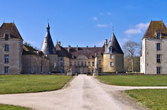 Chateau Commarin in France Stock Photos