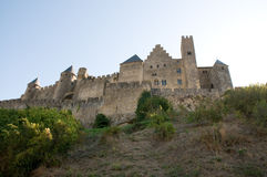 Chateau Comtal Carcassonne Royalty Free Stock Photo