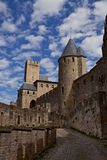 Chateau Comtal of Carcassonne fortress. France, Europe Royalty Free Stock Photo