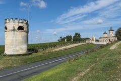 Chateau Cos d'Estournel Saint-Estephe Stock Photos
