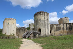 Chateau Coudray- Salbart Royalty Free Stock Photography