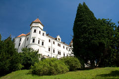 Chateau in czech republic Stock Image