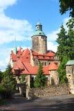 Chateau Czocha stockbilder