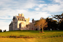 Chateau d'Abbadia Stock Photography