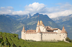 Chateau d'Aigle Stock Photo