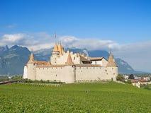 Chateau d'Aigle stock photography