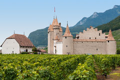 Chateau dAigle, Switzerland royalty free stock images