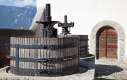Chateau d'Aigle royalty free stock image