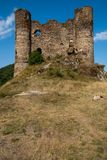 Chateau d'Alleuze Royalty Free Stock Image